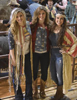 "The three young women who make up the band ""Sweet Tea"" talk turkey and tunes with Outpost editor Art Young. At a very young age, Savannah Coker, Kate Falcon and Victoria Camp are writing and performing their music and building with songs like ""Huntin' is Good."""